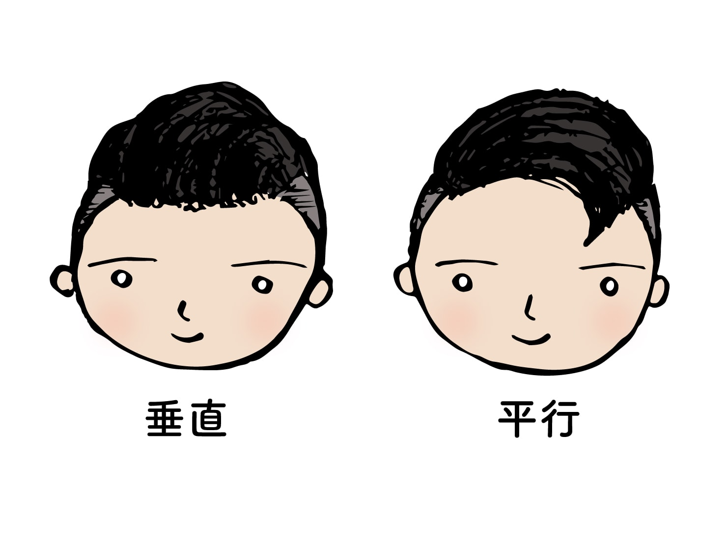 台湾男子御用達のヘアスタイル「リーゼント」2タイプ