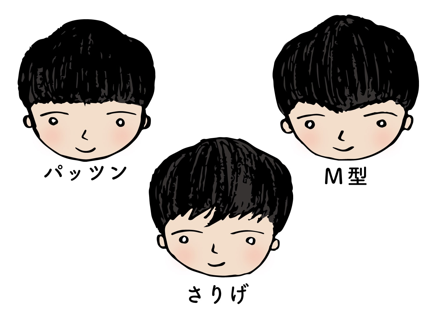 台湾男子御用達のヘアスタイル「マッシュルーム」3タイプ