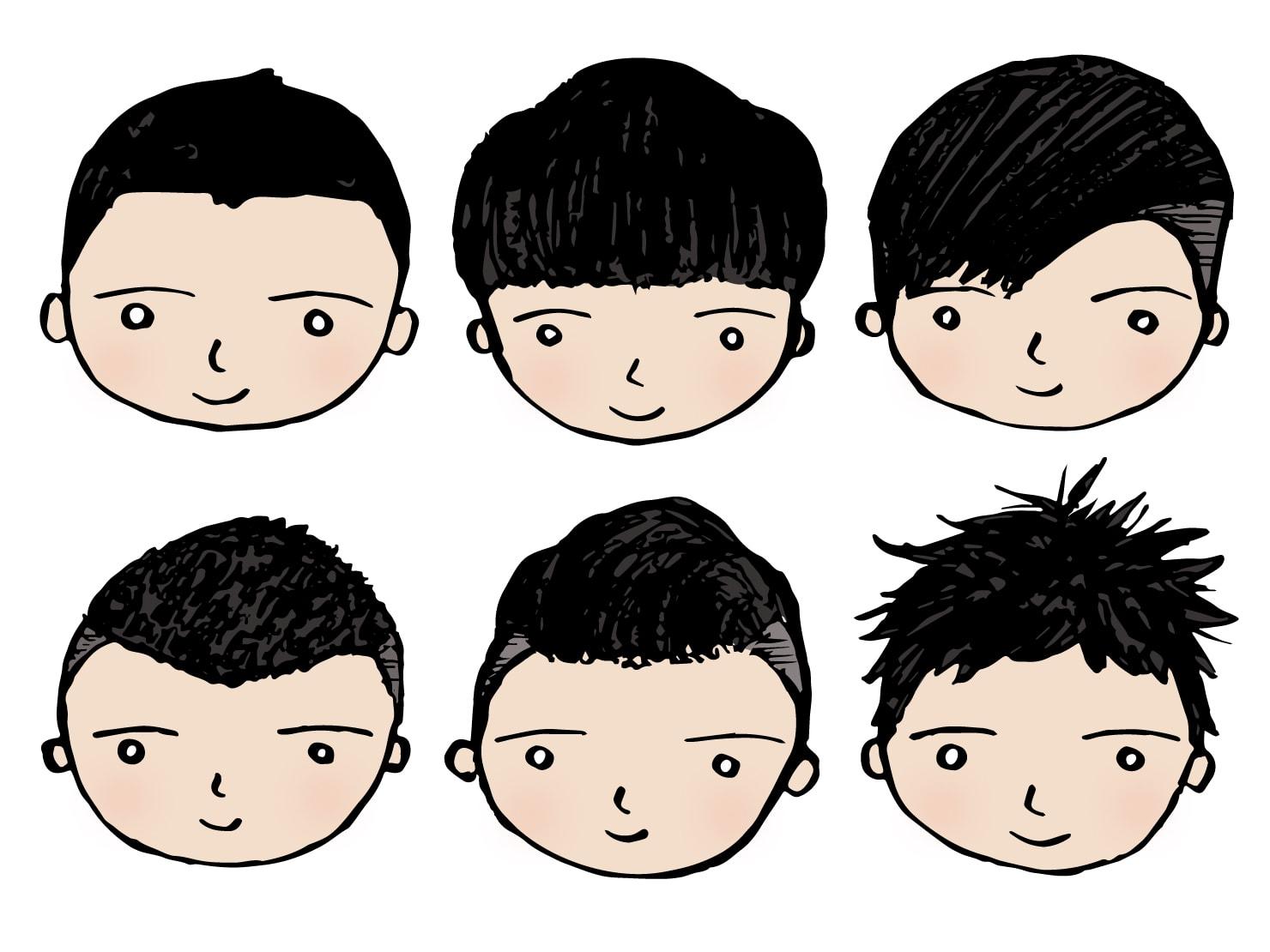 台湾男子御用達のヘアスタイル6タイプ