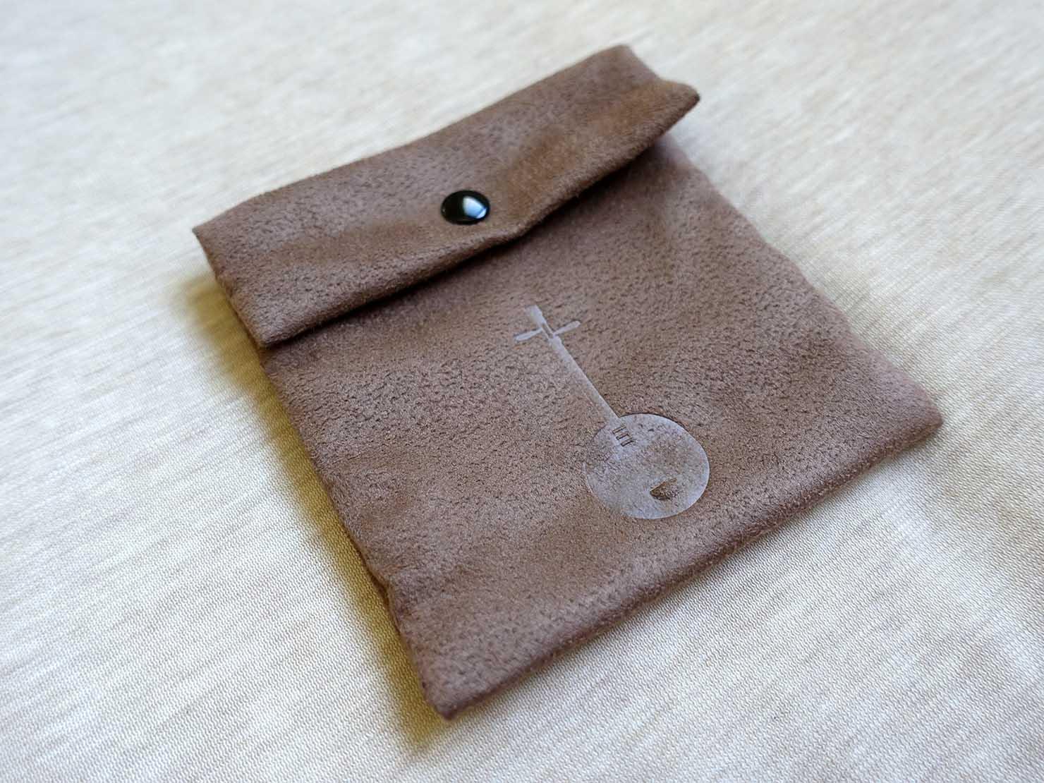 台湾発の高品質イヤホンブランド「Chord&Major(コード&メジャー)」イヤホン付属の収納用ミニバッグ
