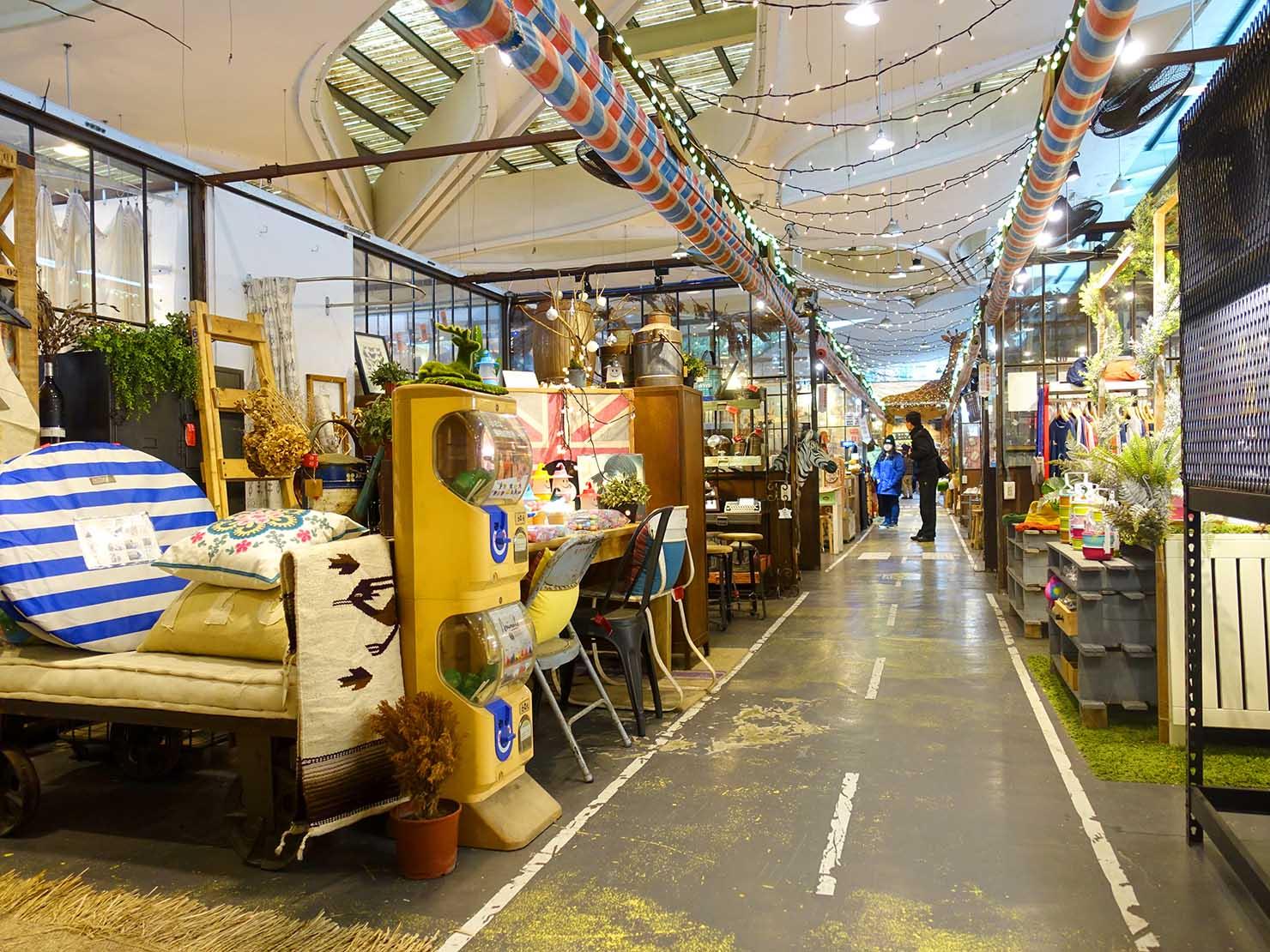 台北・MAJI集食行樂(花博公園)の雑貨市