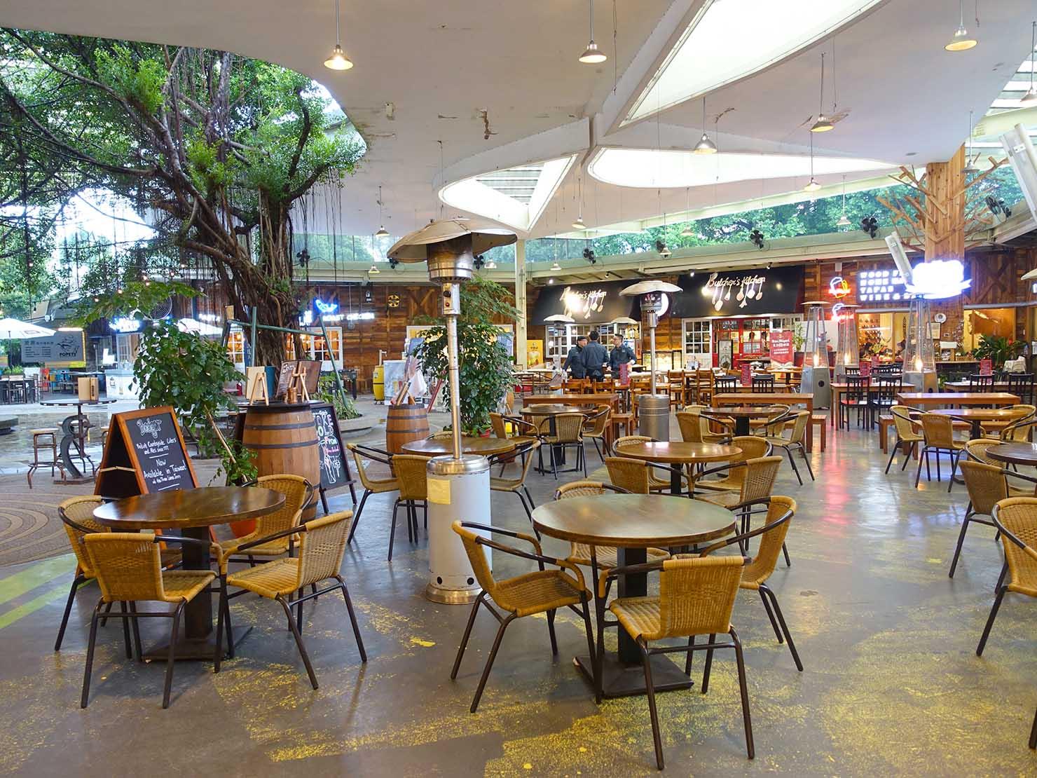 台北・MAJI集食行樂(花博公園)のレストランエリア