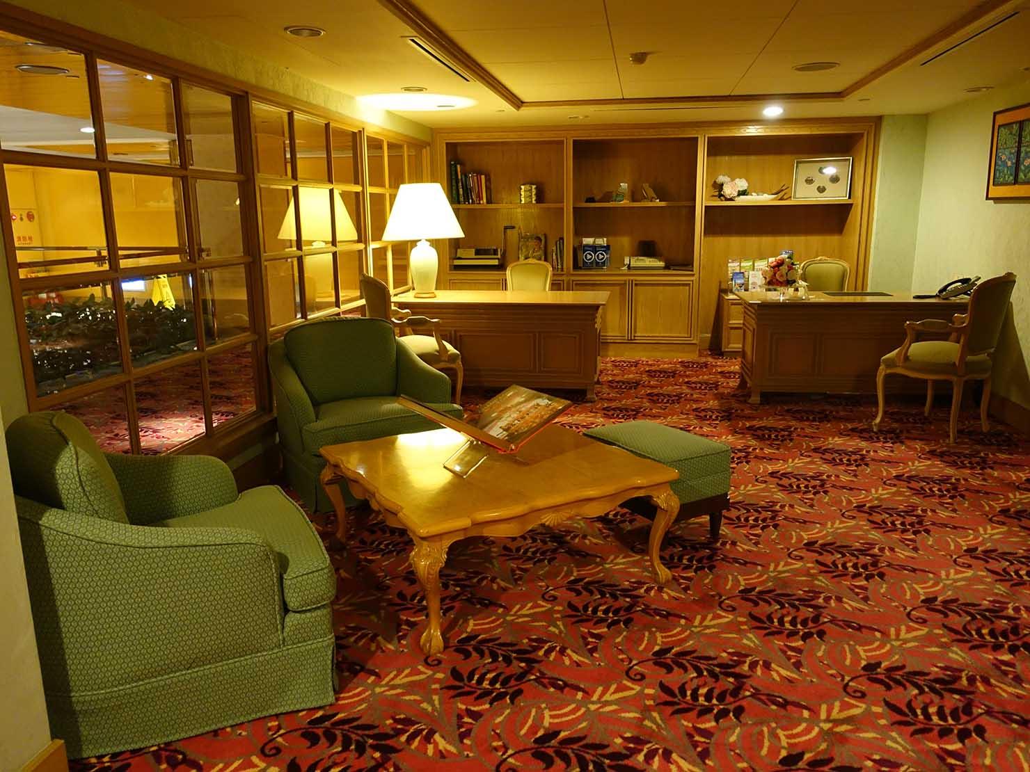 台北のおすすめ4つ星ホテル「歐華酒店(リビエラホテル)」2階のビジネスセンター