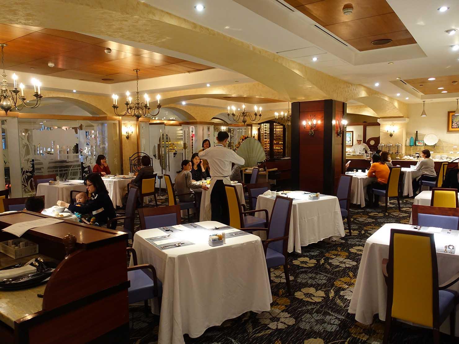 台北のおすすめ4つ星ホテル「歐華酒店(リビエラホテル)」内のレストラン