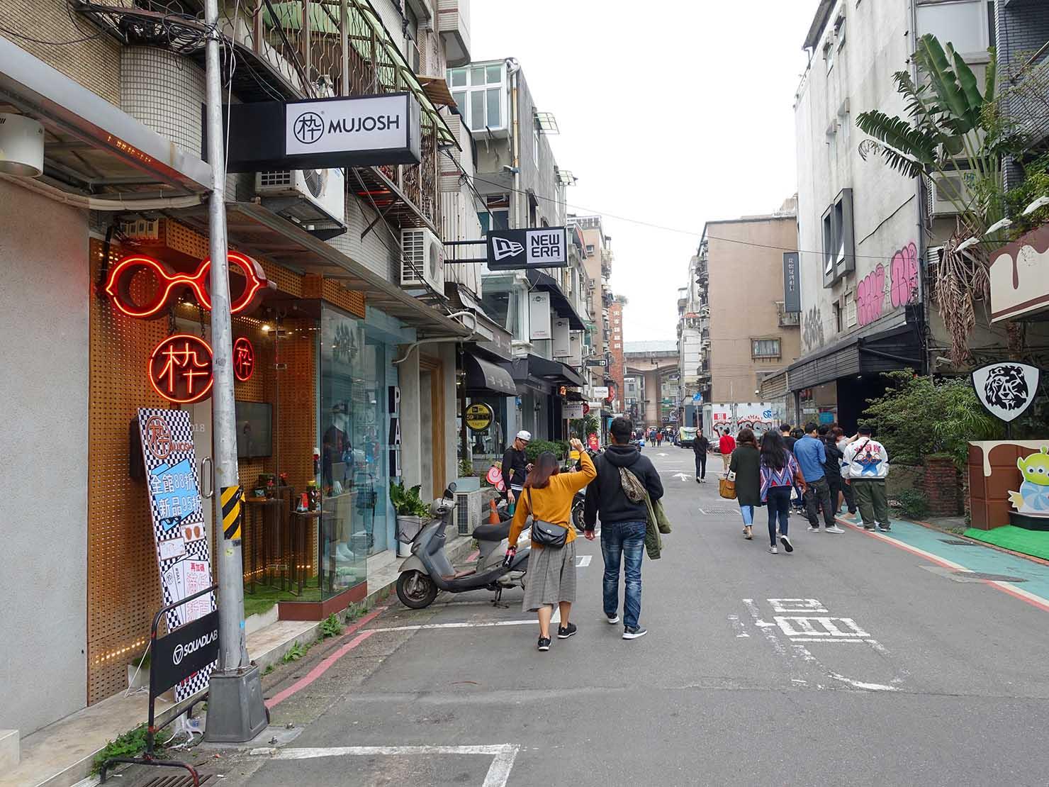 春節(旧正月)を迎えたの台北の観光スポット「東區」(忠孝敦化)