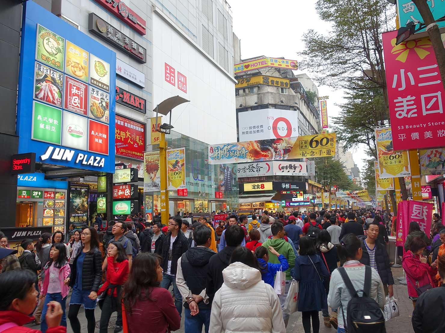 春節(旧正月)を迎えたの台北の観光スポット「西門町」