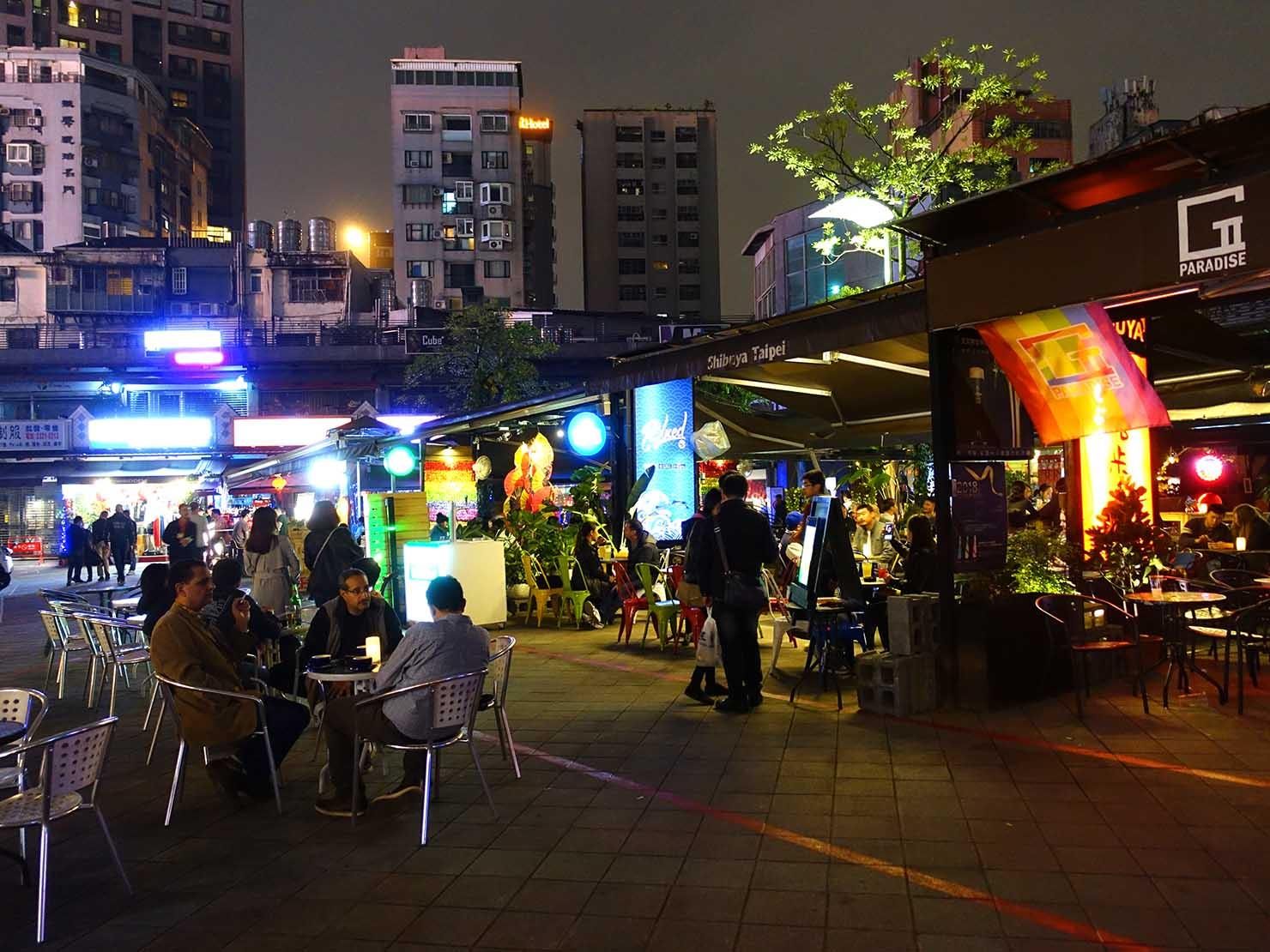 春節(旧正月)を迎えたの台北の観光スポット「西門紅樓」