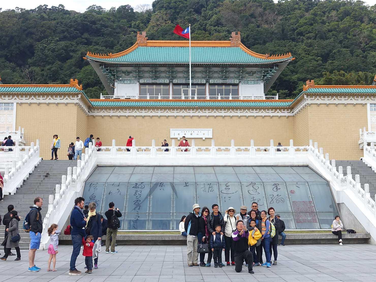 春節(旧正月)を迎えたの台北の観光スポット「故宮博物院」