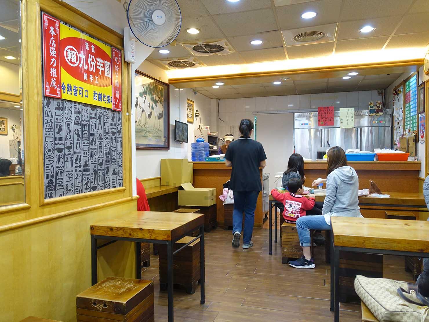台北・中正紀念堂のおすすめグルメ店「豆味行」の店内