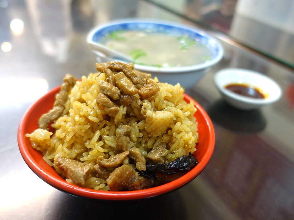 台北・中正紀念堂のおすすめグルメ店「牯嶺油飯」の油飯