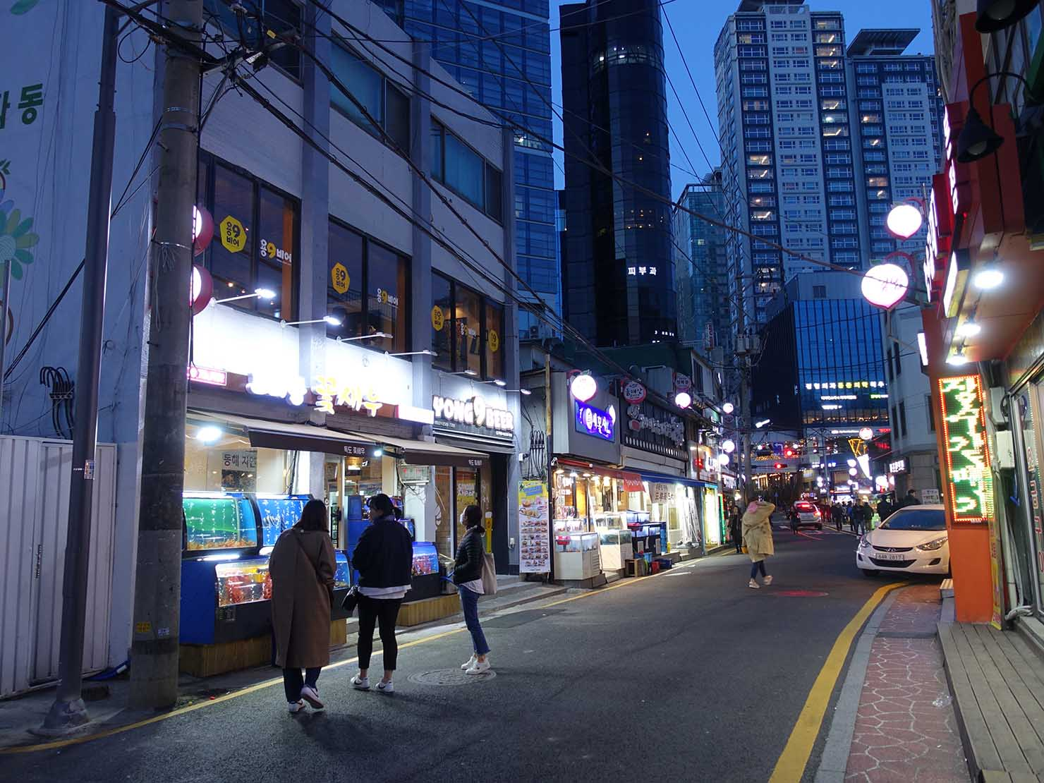 ソウル・孔德(공덕/コンドク)駅周辺の韓国グルメ店密集エリア