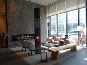 ソウル観光に超便利なアクセス抜群の特2級ホテル「新羅ステイ麻浦 Shilla Stay Mapo」のロビー