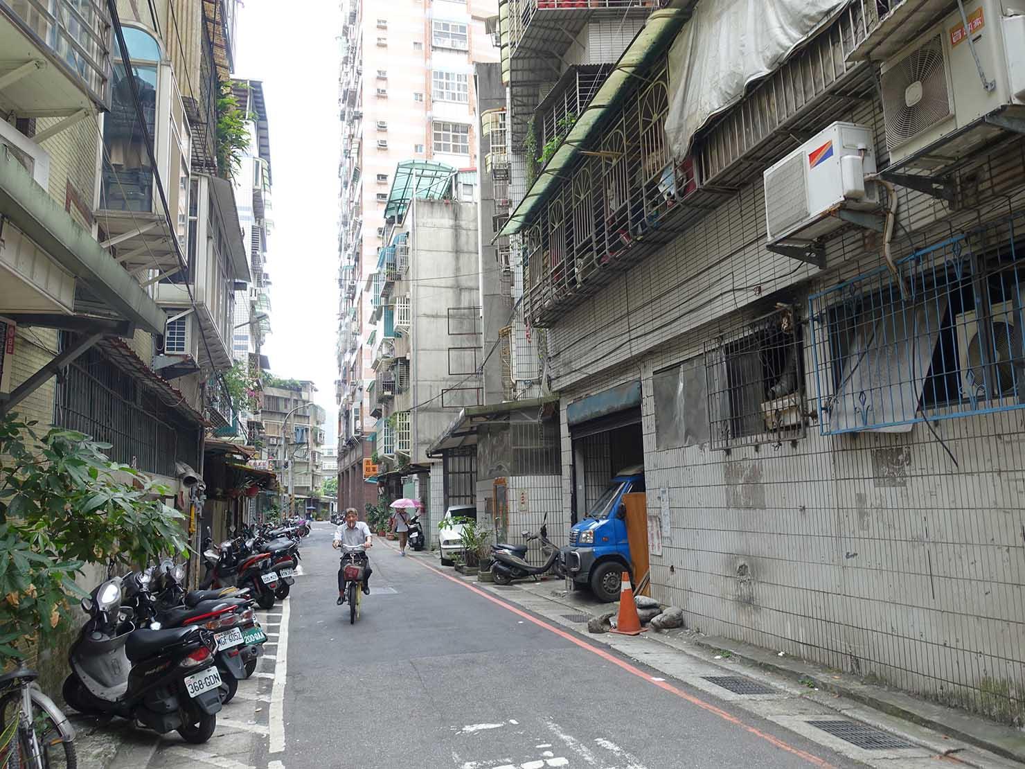 台北・中和の住宅街