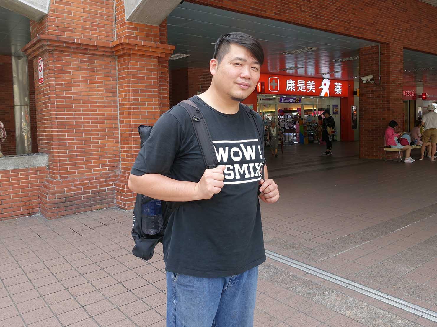 KKday台湾旅行・出張撮影サービスのカメラマン・AKさん