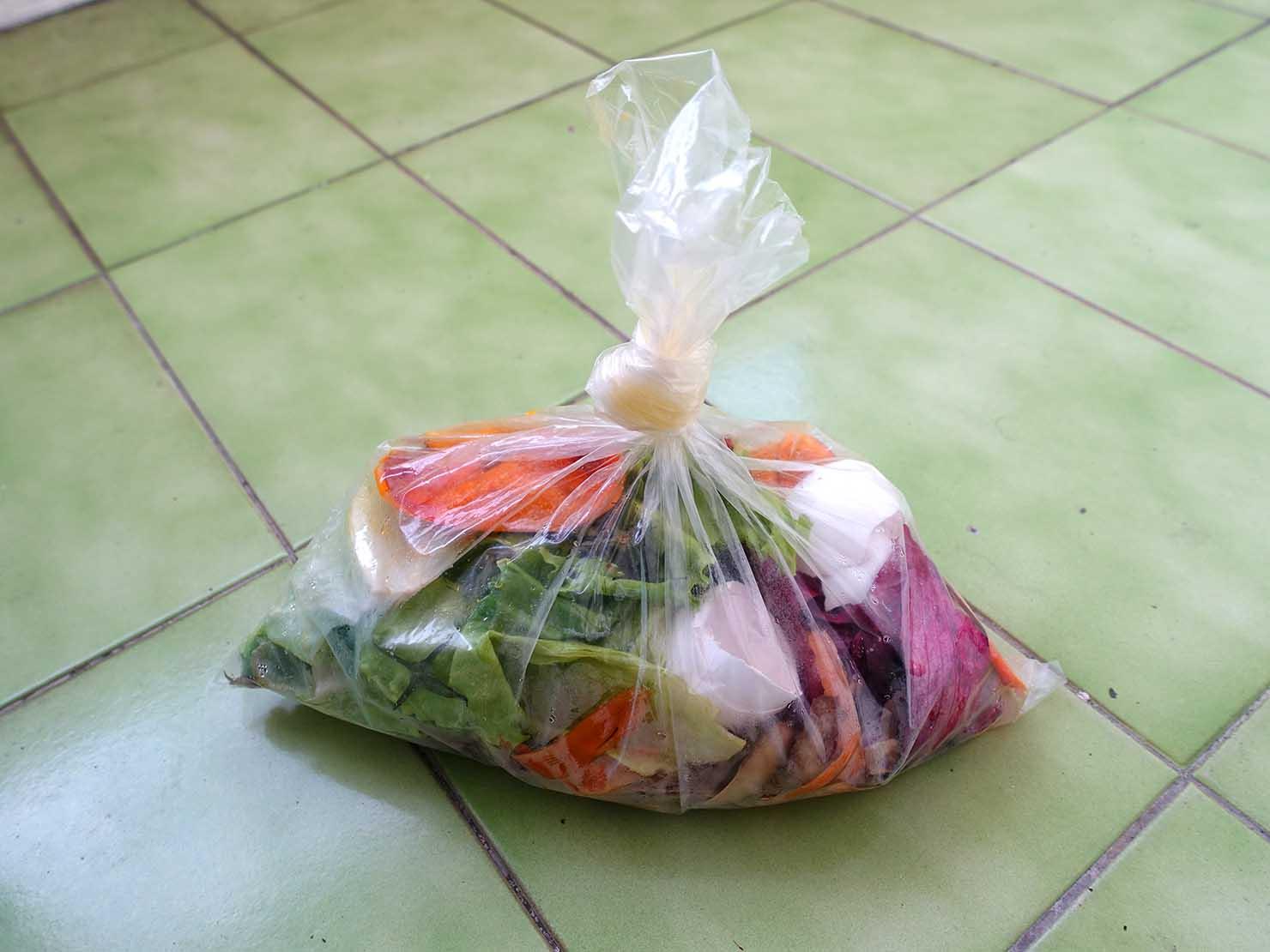 台湾での生ゴミの捨て方