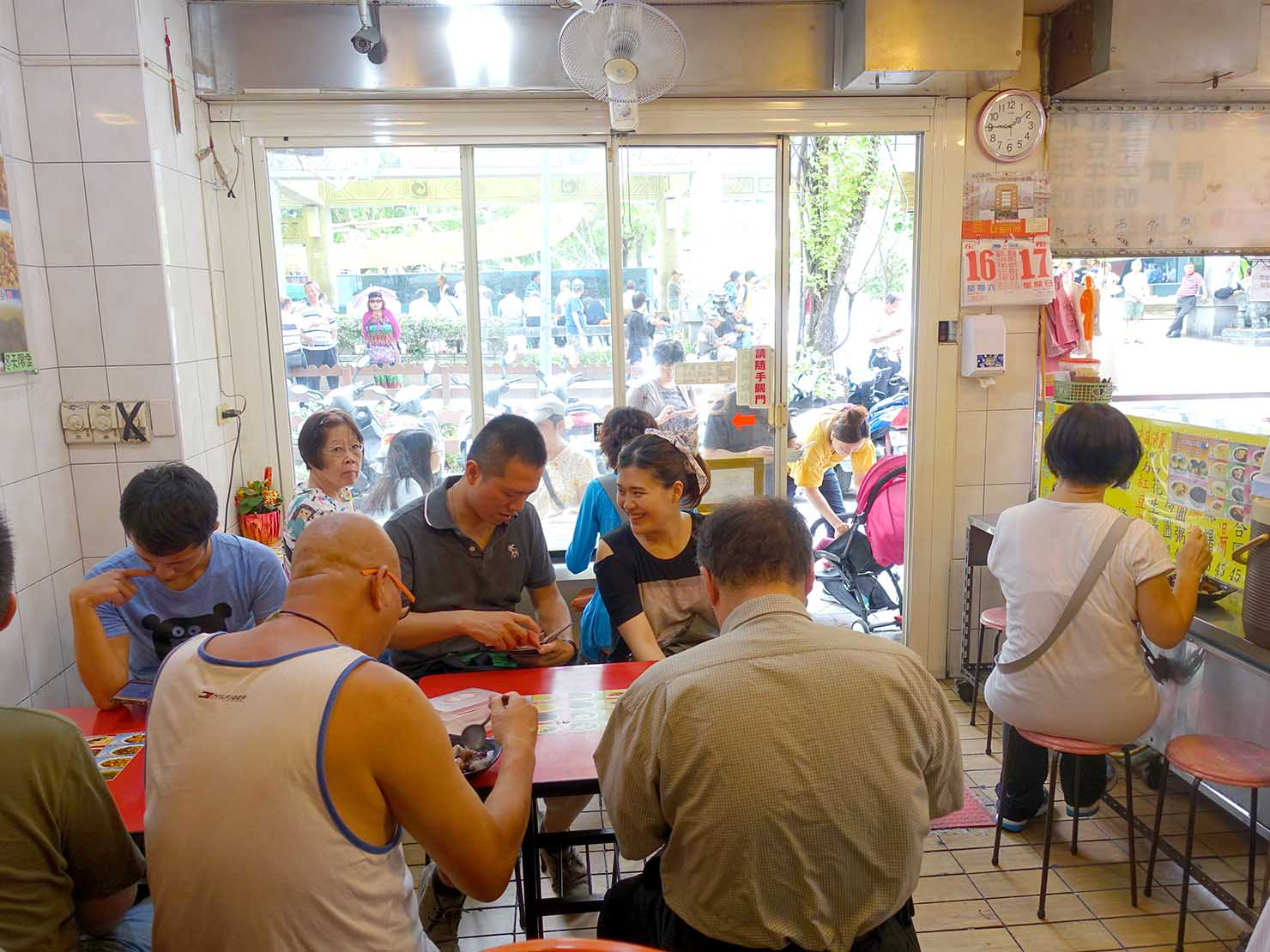 台北・龍山寺エリアのおすすめグルメ店「三六圓仔店」の店内