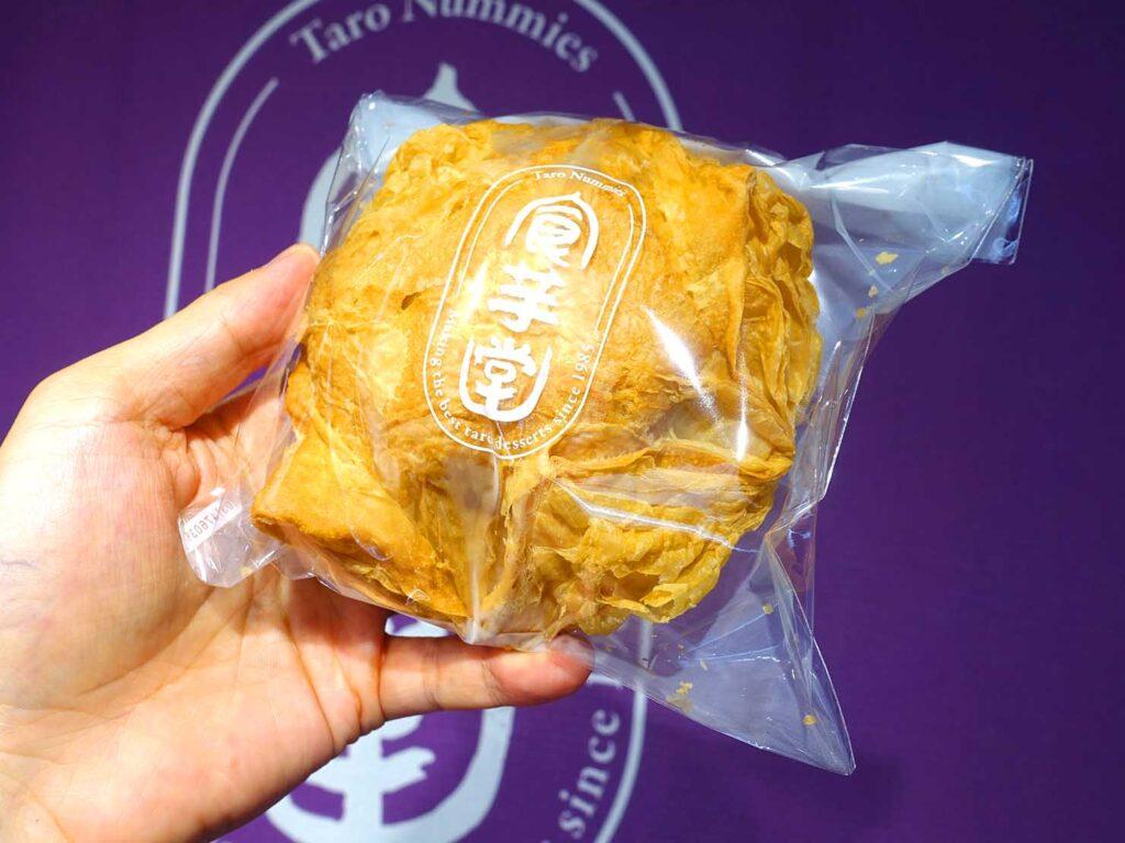 台北・行天宮のおすすめグルメ店「食芋堂」の脆皮芋泥泡芙