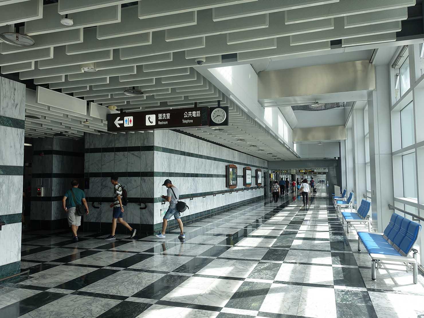 KKday外国人限定「花蓮・太魯閣(タロコ)日帰りツアー」花蓮空港の到着ロビー