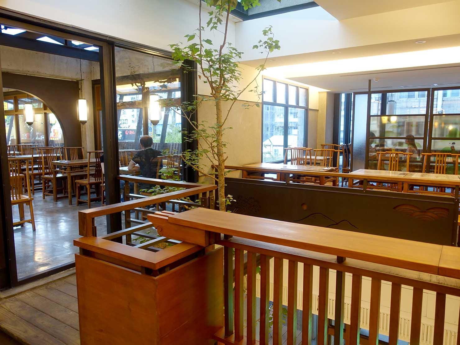 KKday外国人限定「花蓮・太魯閣(タロコ)日帰りツアー」夕食で立ち寄った王記茶舖の店内