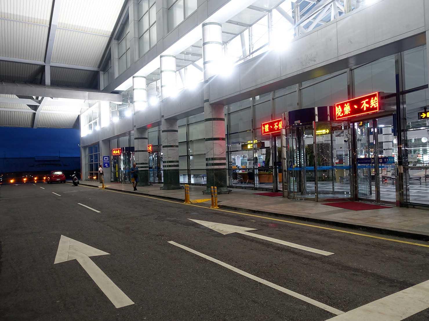 KKday外国人限定「花蓮・太魯閣(タロコ)日帰りツアー」花蓮空港に到着
