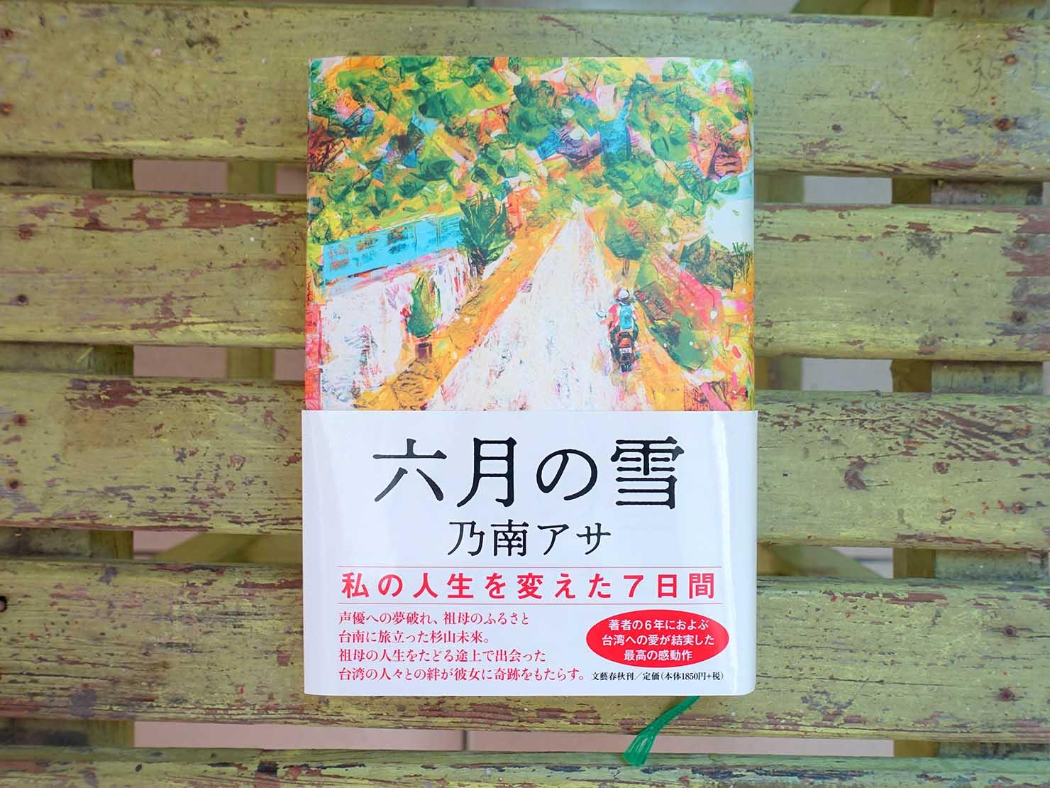 台湾が舞台のおすすめ小説『六月の雪』