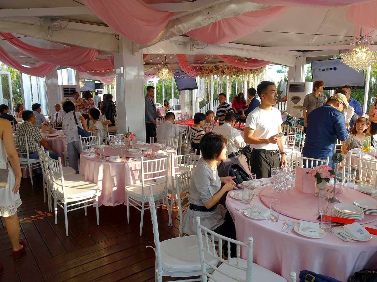 台湾の結婚式会場