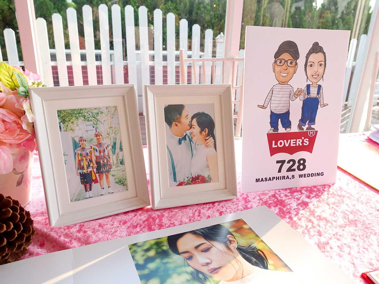台湾の結婚記念写真「婚紗」