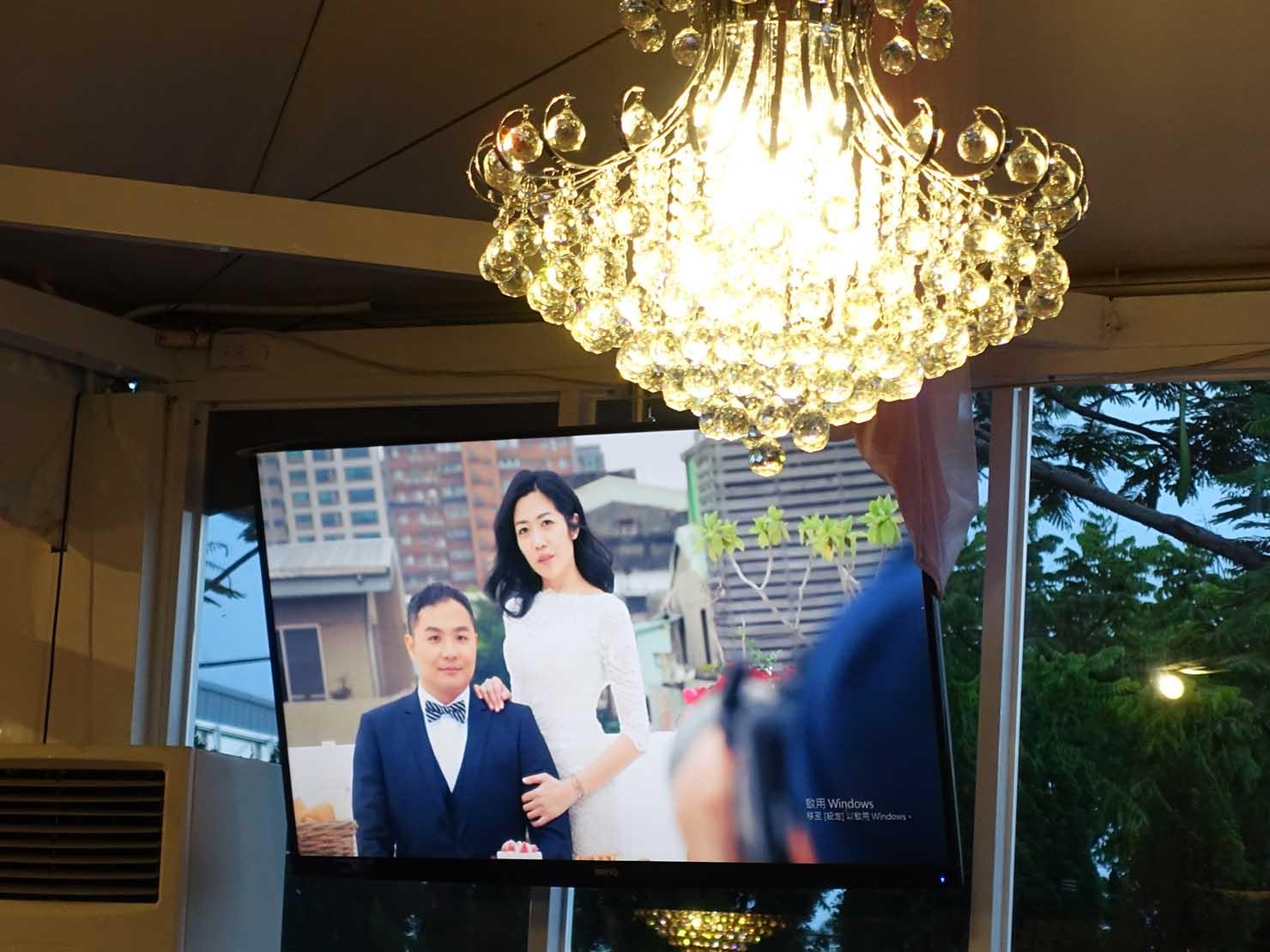 台湾の結婚式で公開された記念写真「婚紗」撮影の裏側
