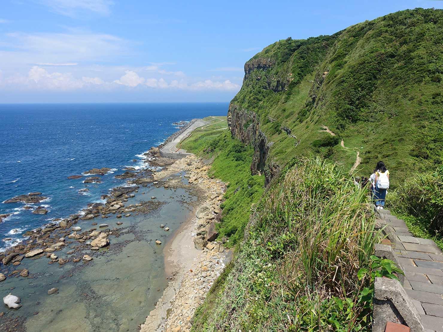 台北から日帰りで行ける基隆・望幽谷の遊歩道