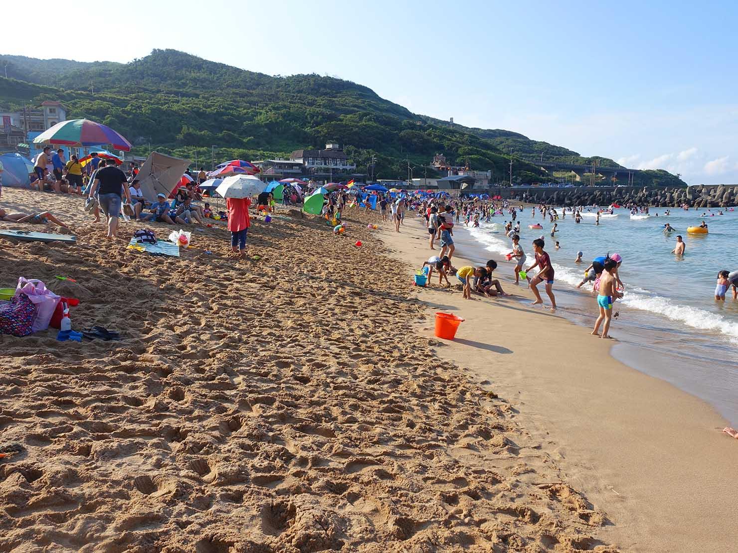 台北から日帰りで行ける基隆・外木山大武崙沙灘のビーチ