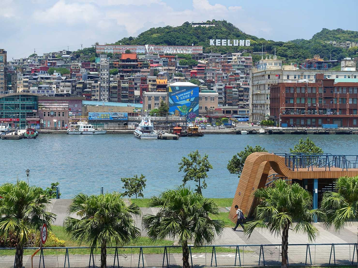 台北から日帰りで行ける基隆・E-SQUAREから眺める港の風景