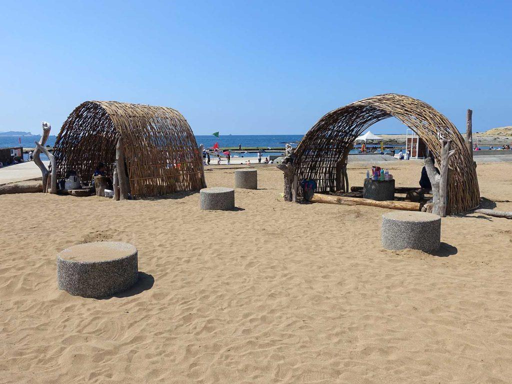 台北から日帰りで行ける基隆・和平島公園のビーチ