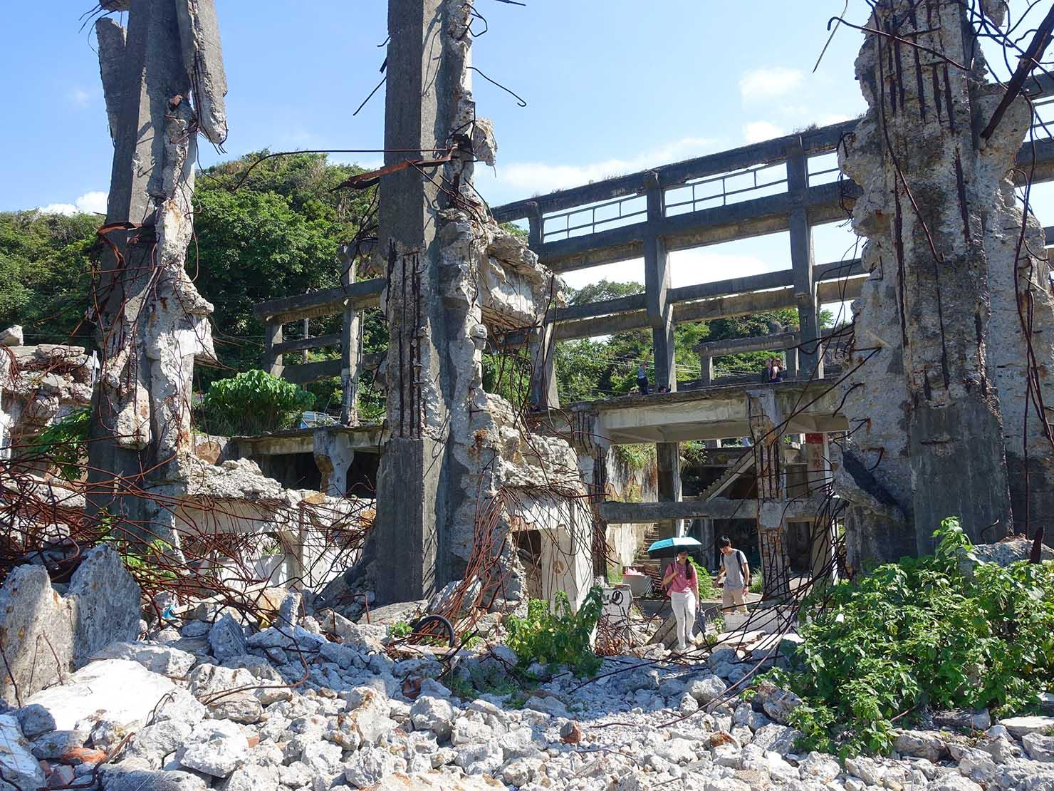 台北から日帰りで行ける基隆・和平島内にある廃墟「阿根鈉造船廠遺址」