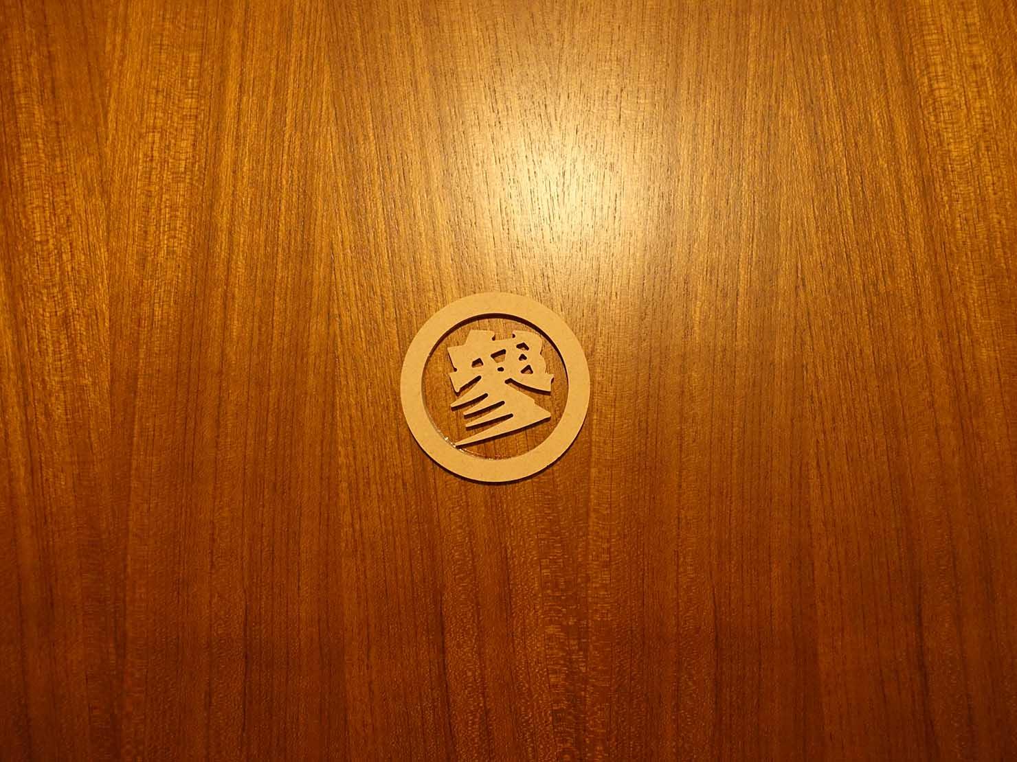台南観光におすすめな古民家ゲストハウス「散步strolling」參號房(ダブルルーム)のドア