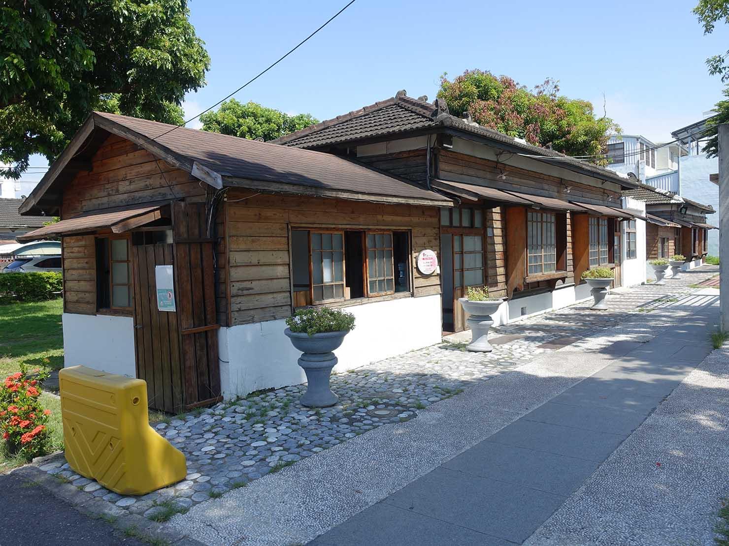 台東の観光スポット「寶町藝文中心」