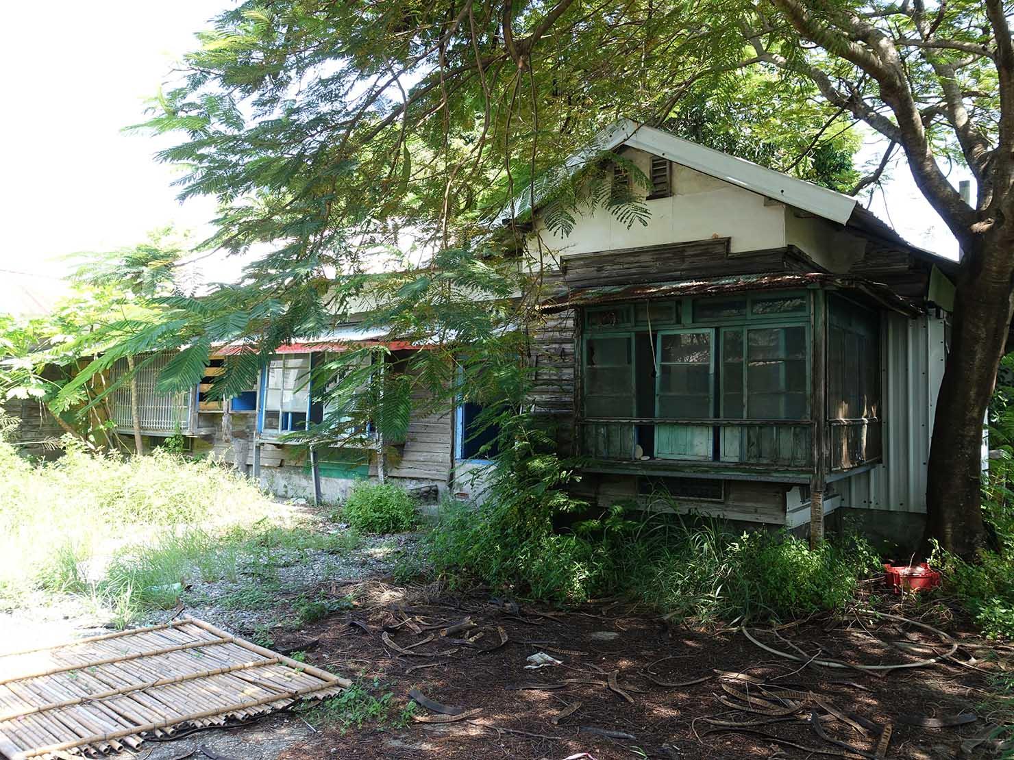 台東の観光スポット「寶町藝文中心」周辺に佇む日本家屋