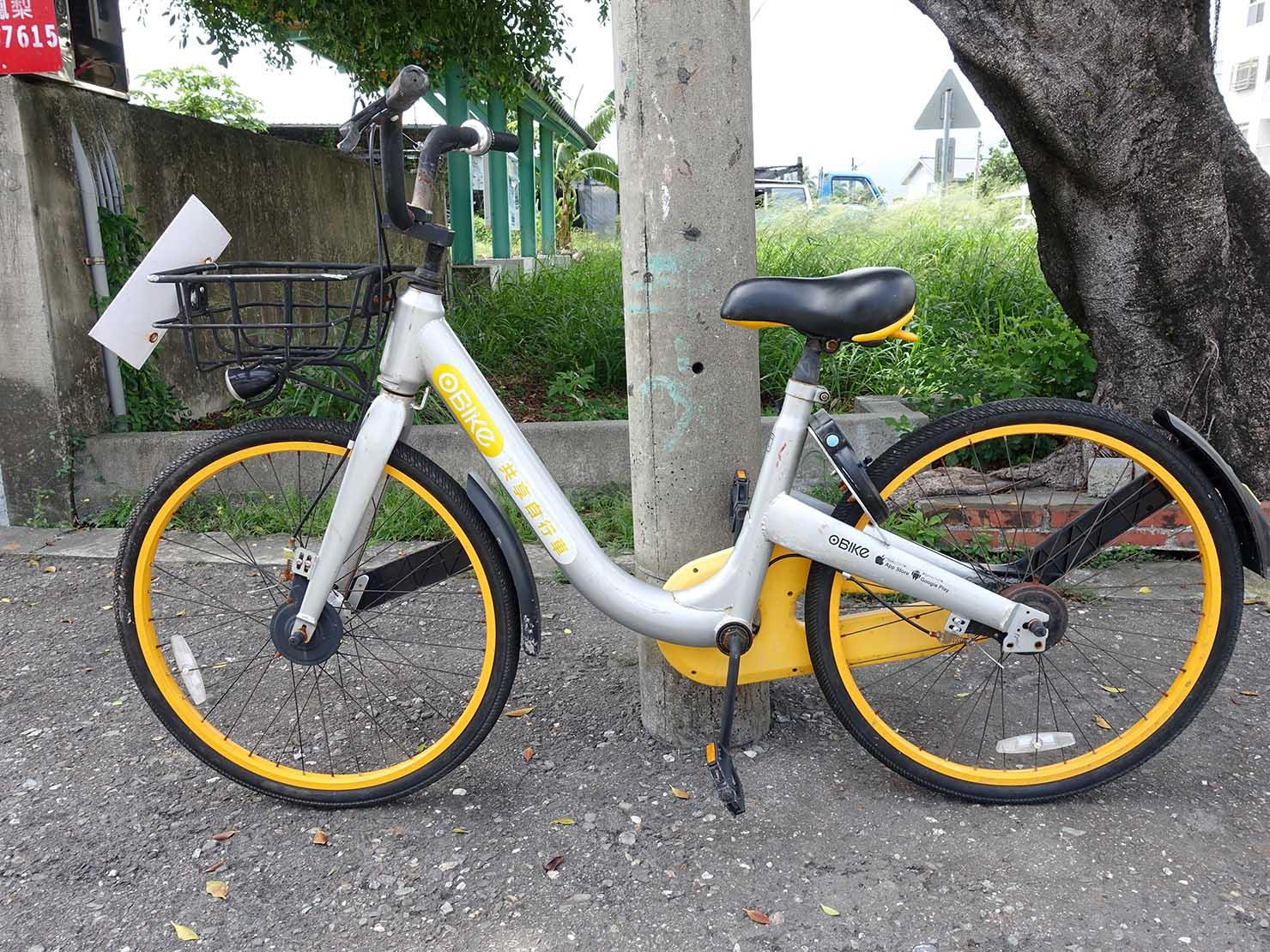 台東旅行で使える便利なシェアサイクル「obike」
