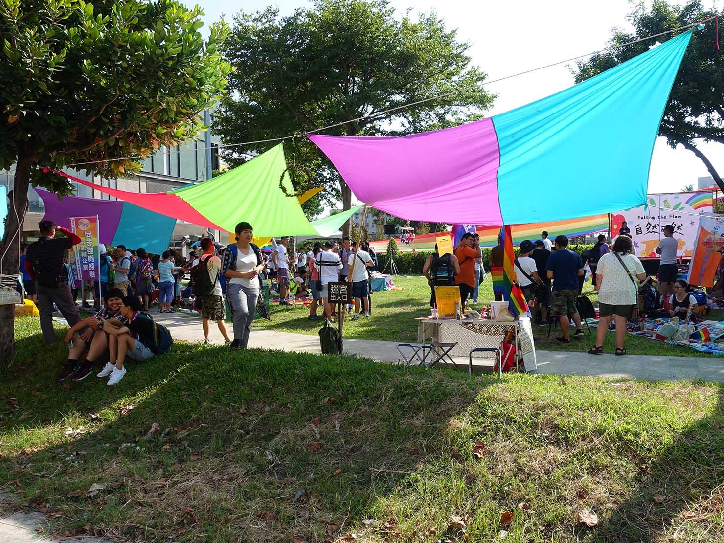 花東彩虹嘉年華(台湾東部LGBTプライド / 台東場)の集合地点・新生公園