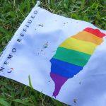 花東彩虹嘉年華(台湾東部LGBTプライド / 台東場)で配布されたレインボーフラッグ