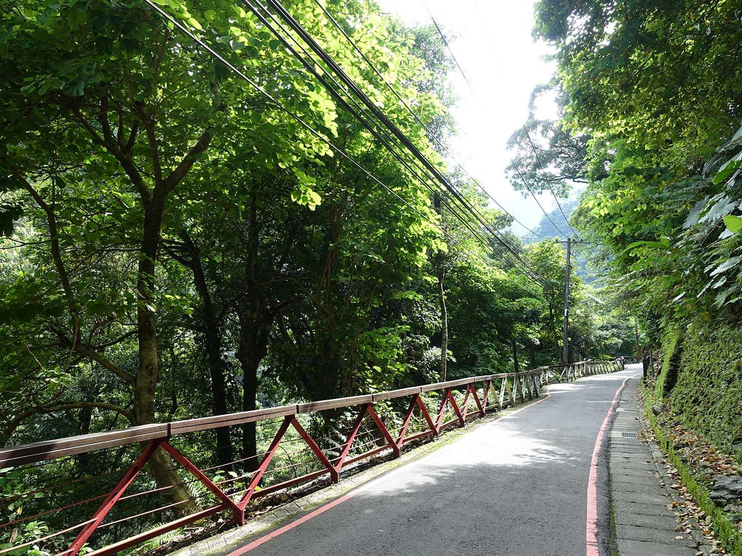 台北・烏來温泉の情人步道