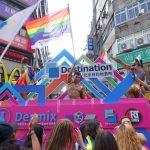 台灣同志遊行(台湾LGBTプライド)2018のパレードカー