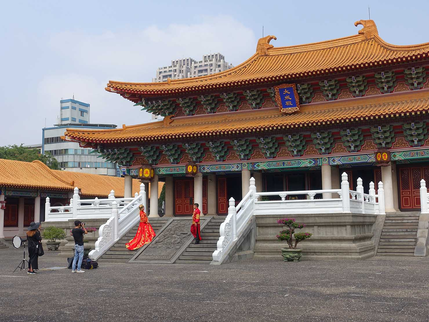 台中観光のおすすめスポット「孔廟」