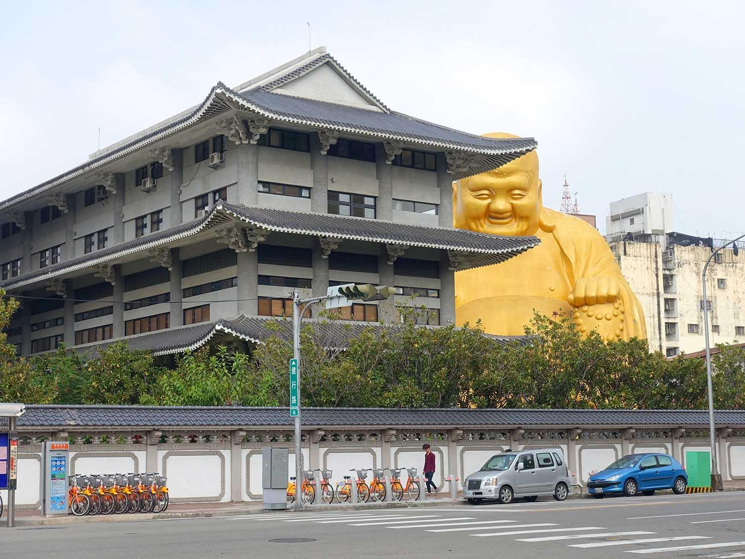 台中観光のおすすめスポット「寶覺寺」の遠景