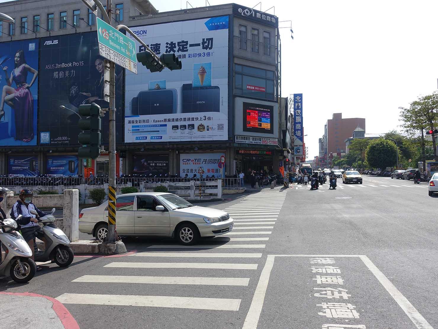 台南・北門民族路口
