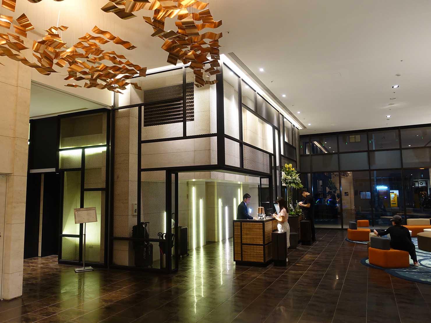 高雄市内観光におすすめのホテル「GREET INN 喜迎旅店」のロビーホール