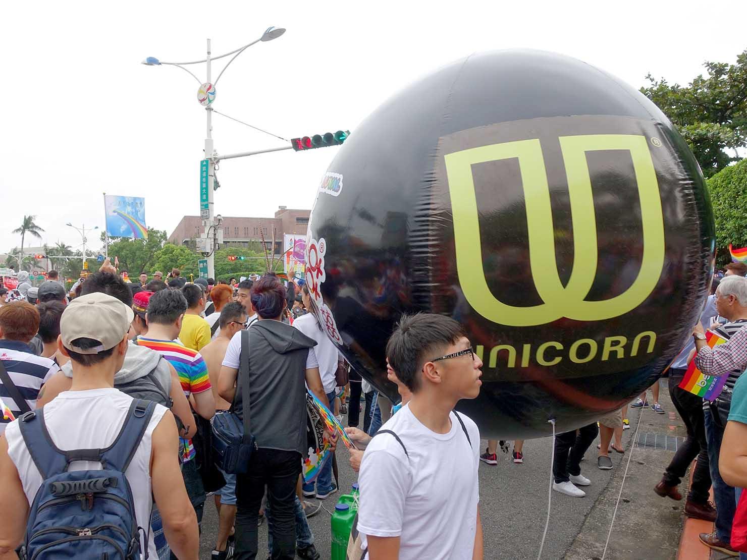 台灣同志遊行(台湾LGBTプライド)に協賛する台湾のメンズコスメブランド「UNICORN」