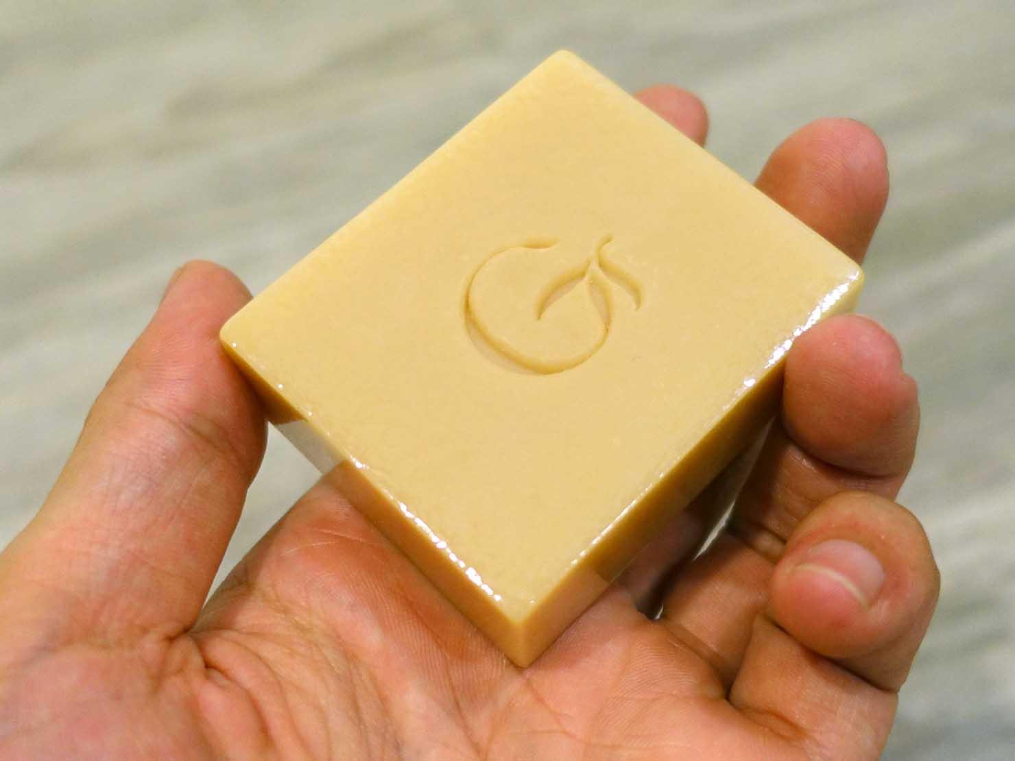 台北おみやげにおすすめのコスメブランド・綠果の「月見草母乳皂」石鹸