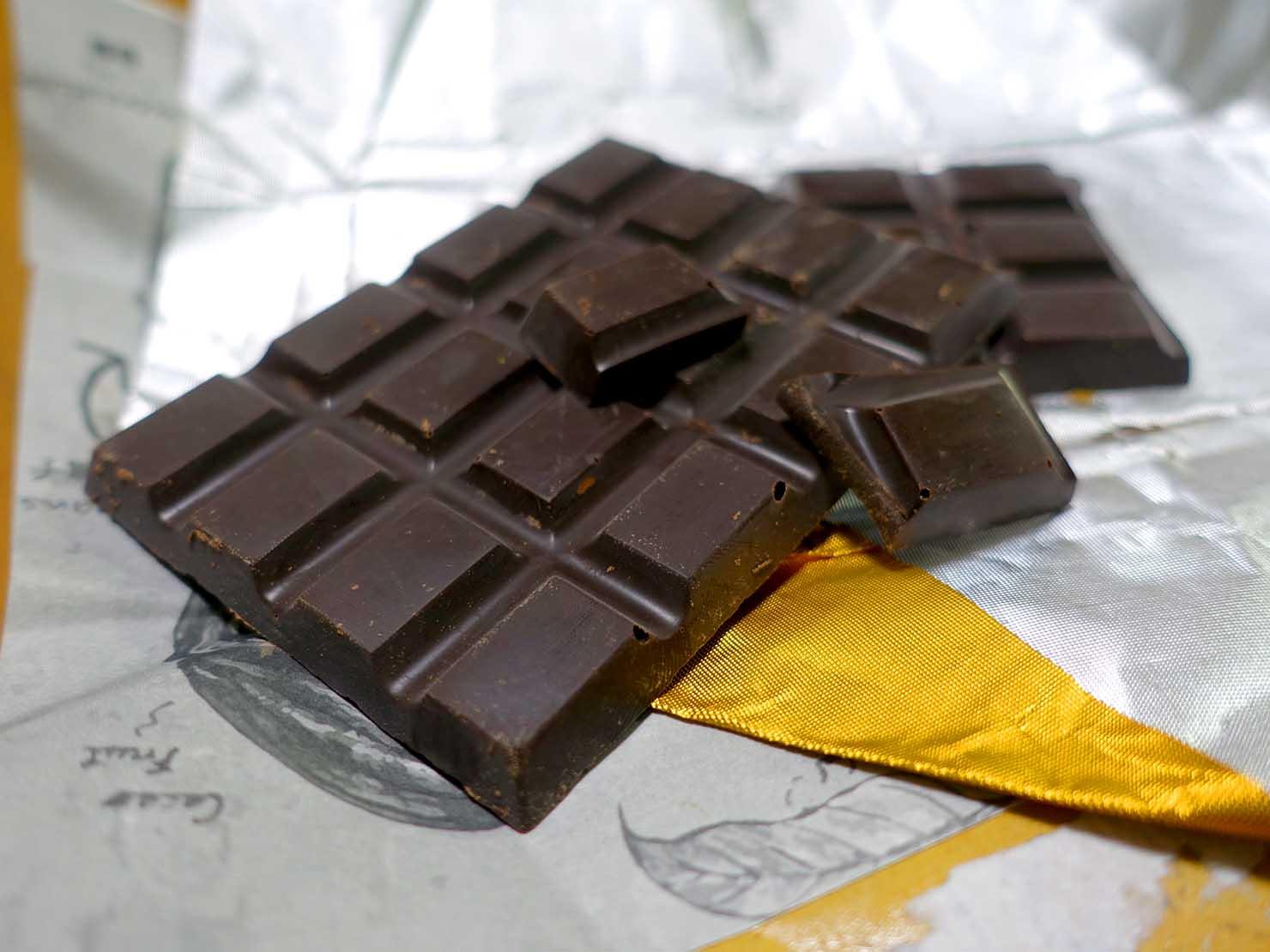 台北おみやげにおすすめのチョコレートブランド・巧遇農情CHOMEET「與眾不同」