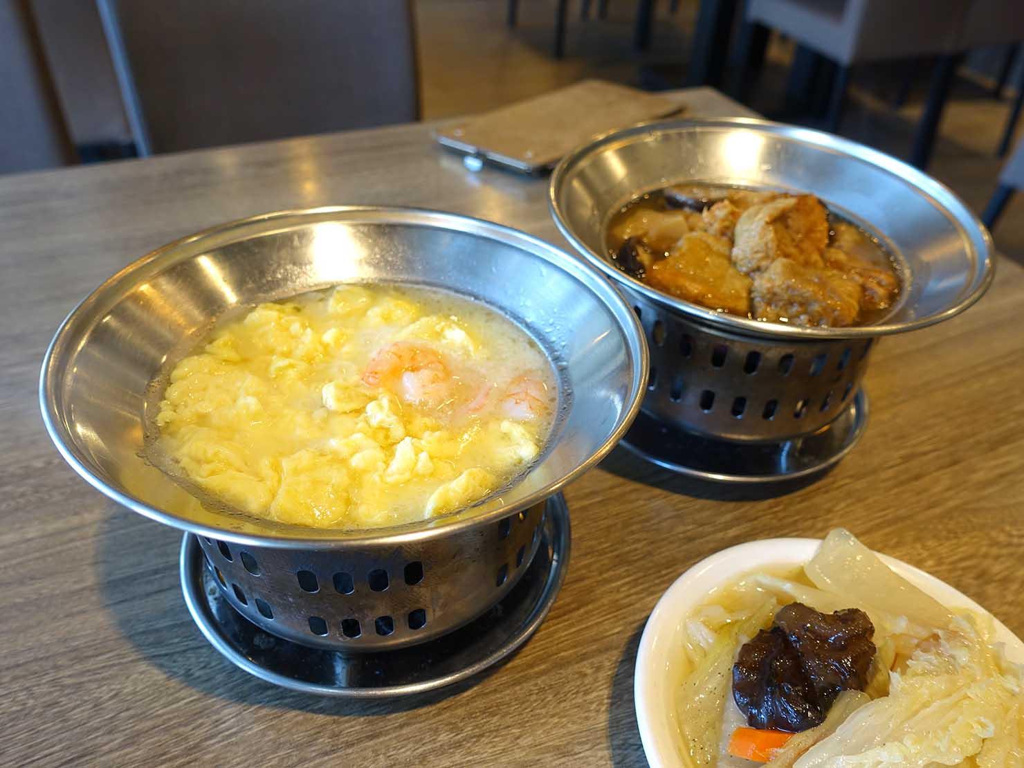 台北・清粥街(お粥街)にある「一流清粥小菜」の料理