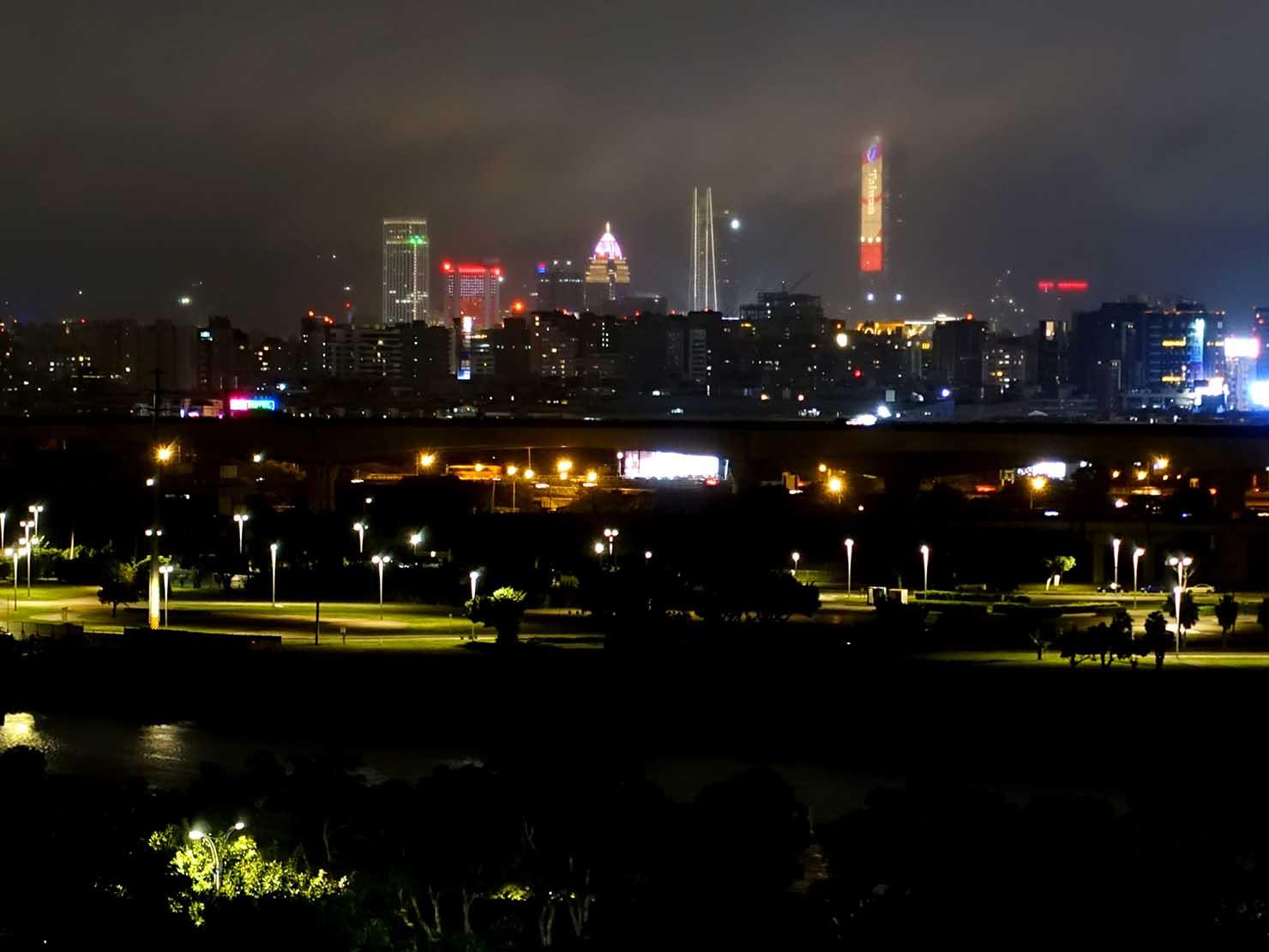 台北・圓山大飯店から眺める台北101